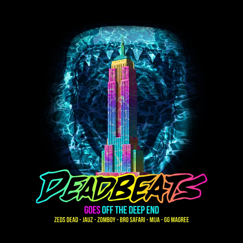 Deadbeats Goes Off The Deep End NYC by chriscoffincreations