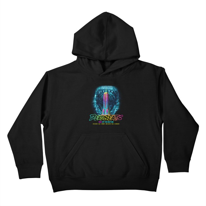 Deadbeats Goes Off The Deep End NYC Kids Pullover Hoody by chriscoffincreations