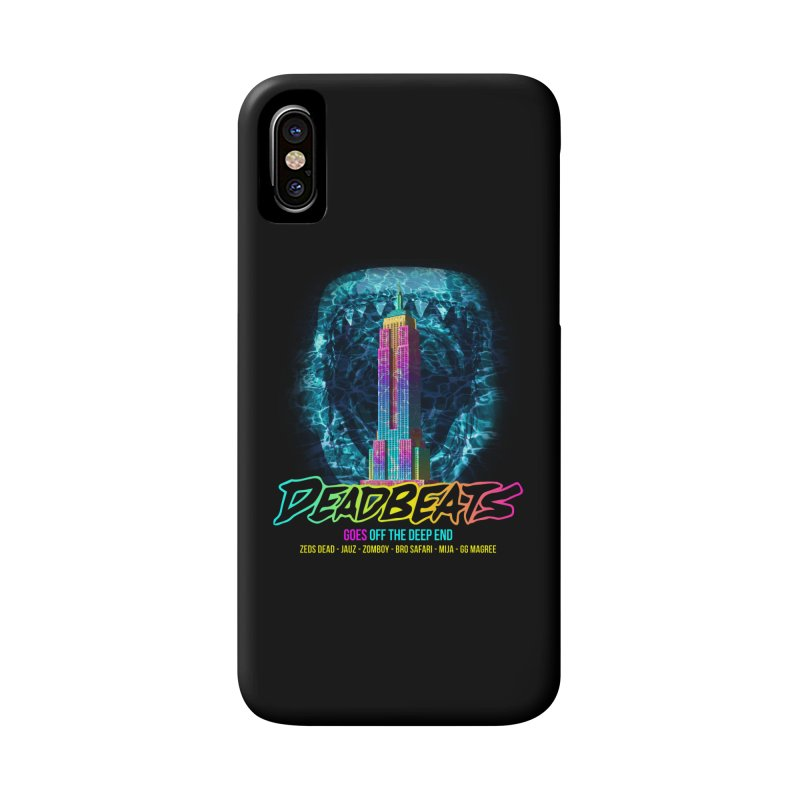 Deadbeats Goes Off The Deep End NYC Accessories Phone Case by chriscoffincreations