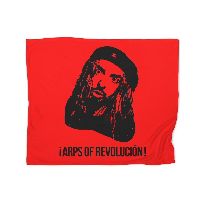 Arps Of Revolución Home Blanket by chriscoffincreations