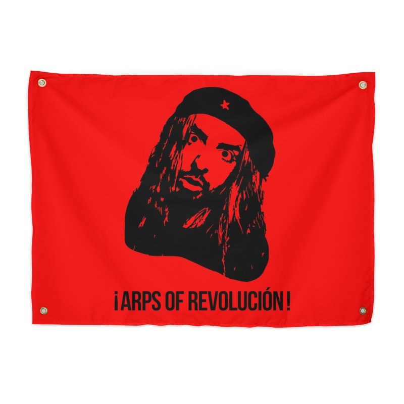 Arps Of Revolución Home Tapestry by chriscoffincreations