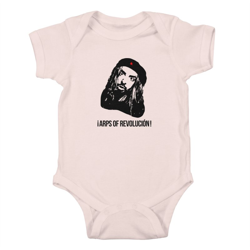 Arps Of Revolución Kids Baby Bodysuit by chriscoffincreations