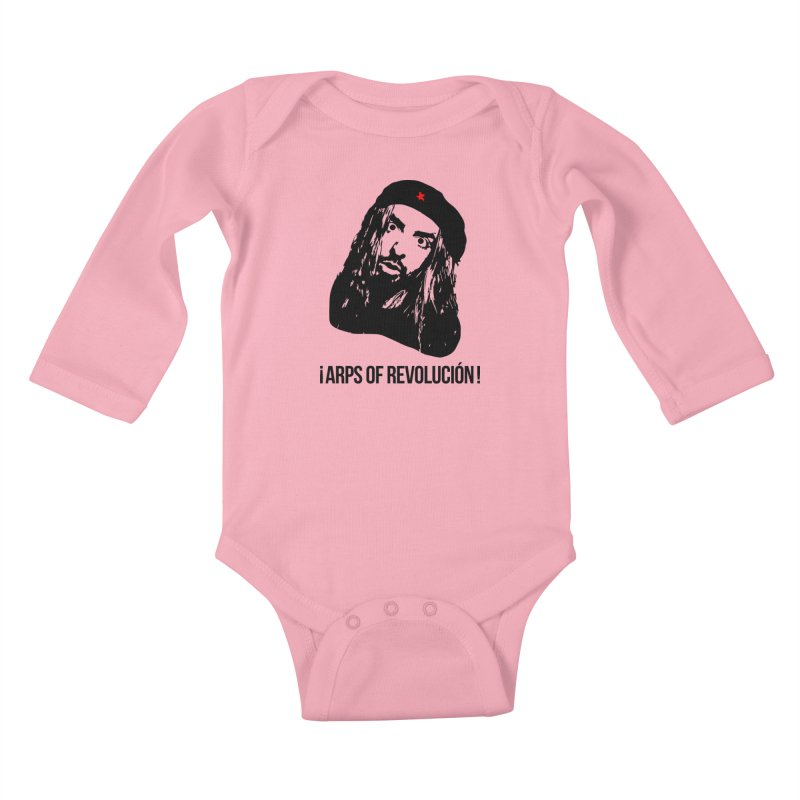 Arps Of Revolución Kids Baby Longsleeve Bodysuit by chriscoffincreations