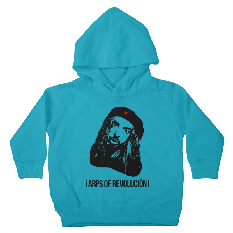 Arps Of Revolución Kids Toddler Pullover Hoody by chriscoffincreations