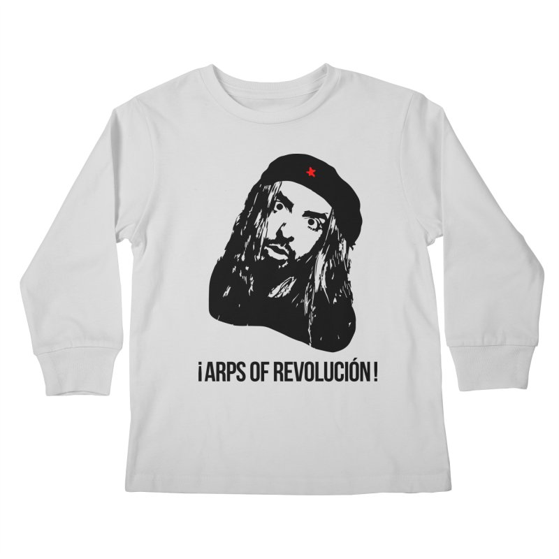 Arps Of Revolución Kids Longsleeve T-Shirt by chriscoffincreations