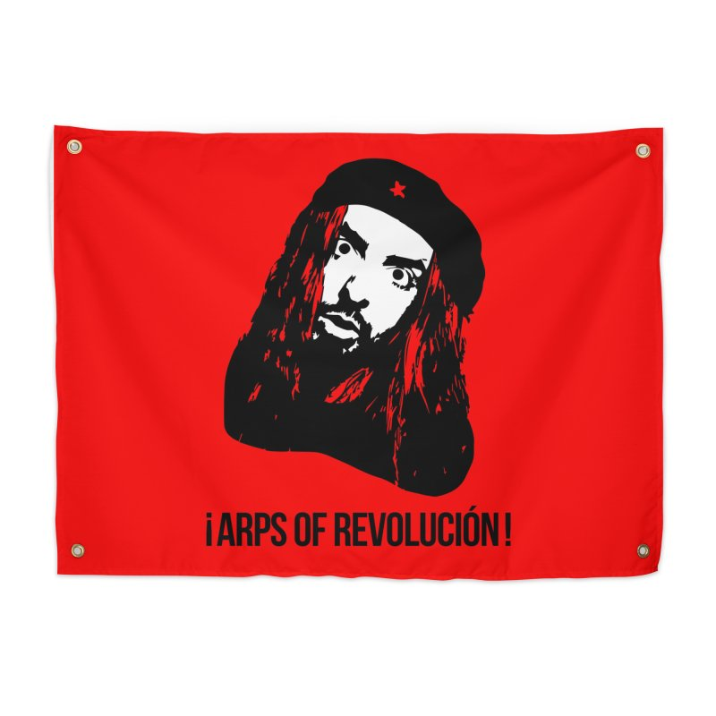 Arps Of Revolución II Home Tapestry by chriscoffincreations