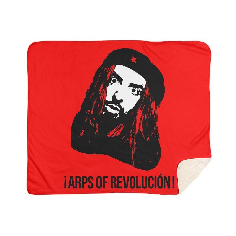 Arps Of Revolución II Home Sherpa Blanket Blanket by chriscoffincreations