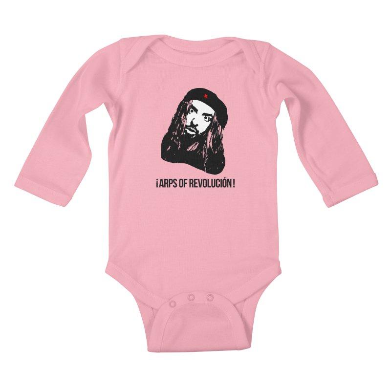 Arps Of Revolución II Kids Baby Longsleeve Bodysuit by chriscoffincreations