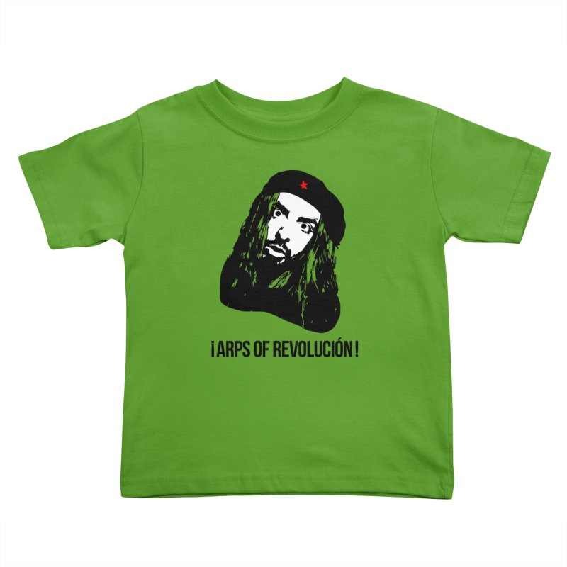 Arps Of Revolución II Kids Toddler T-Shirt by chriscoffincreations