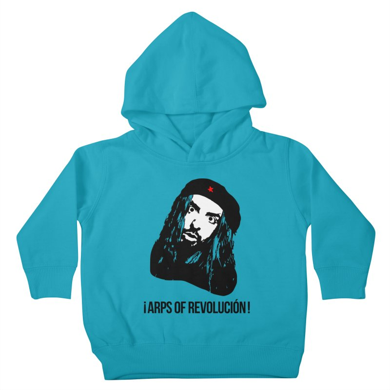 Arps Of Revolución II Kids Toddler Pullover Hoody by chriscoffincreations
