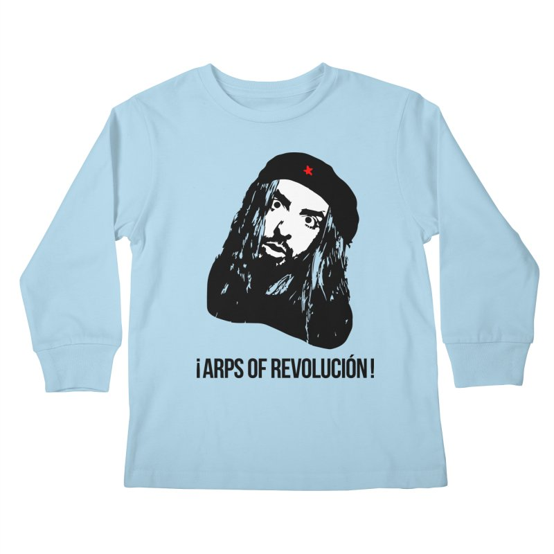 Arps Of Revolución II Kids Longsleeve T-Shirt by chriscoffincreations