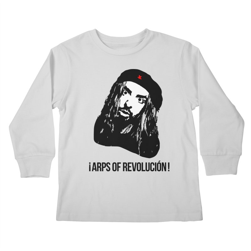 Arps Of Revolución II Kids Longsleeve T-Shirt by chriscoffincreations