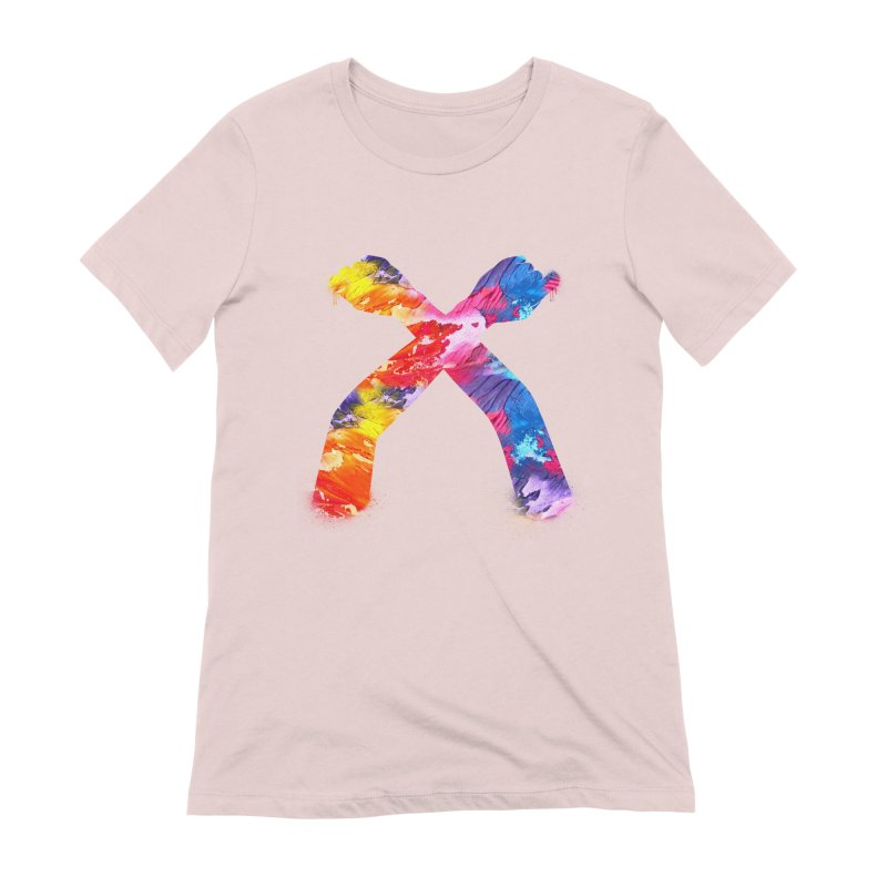 X Women's Extra Soft T-Shirt by chriscoffincreations