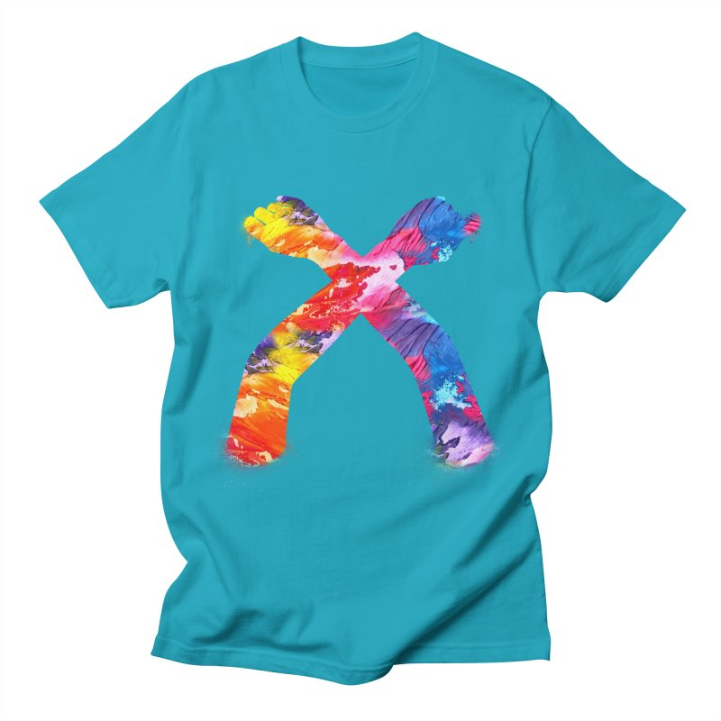 X Men's T-Shirt by chriscoffincreations