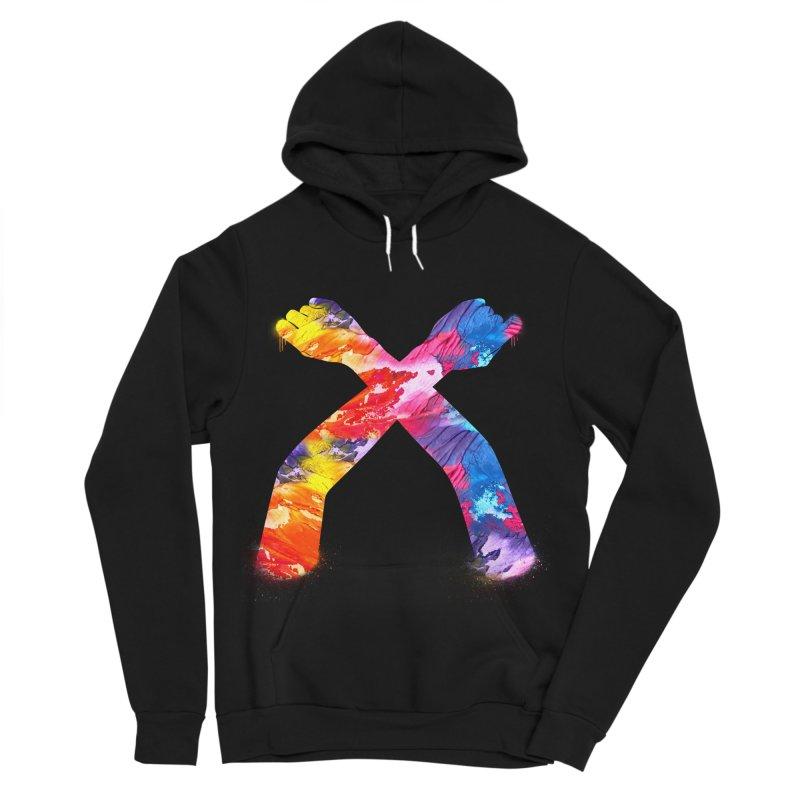 X Women's Sponge Fleece Pullover Hoody by chriscoffincreations