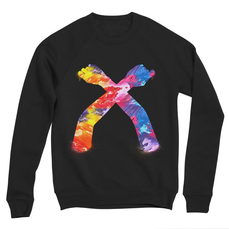 X Women's Sponge Fleece Sweatshirt by chriscoffincreations