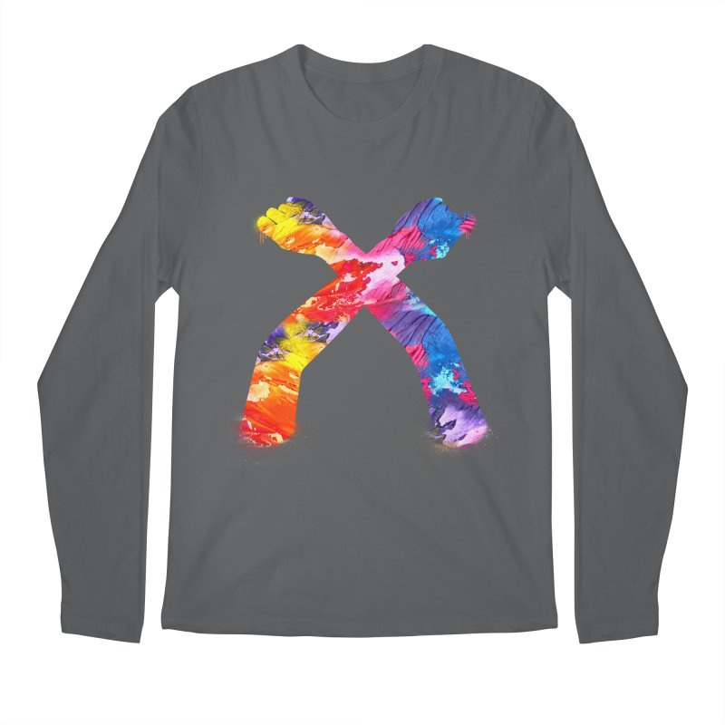 X Men's Longsleeve T-Shirt by chriscoffincreations