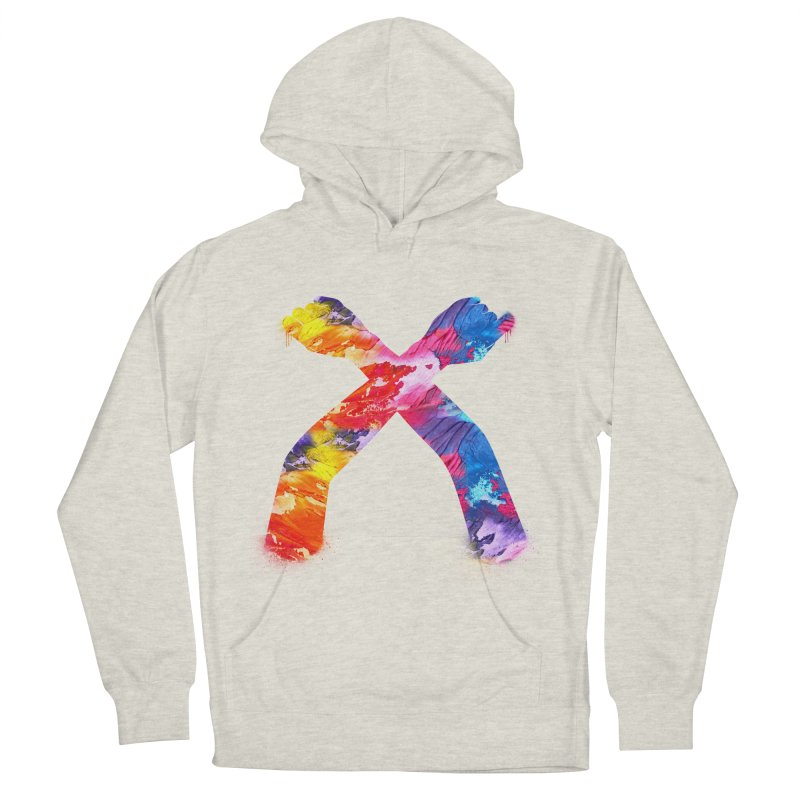 X Women's French Terry Pullover Hoody by chriscoffincreations