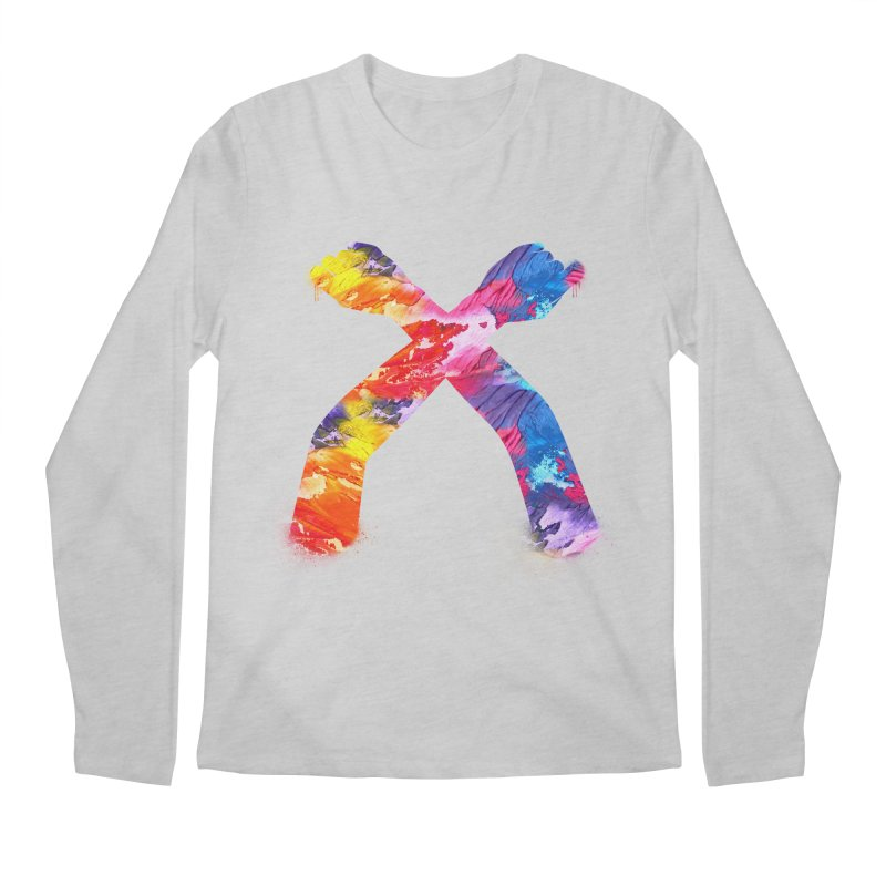 X Men's Regular Longsleeve T-Shirt by chriscoffincreations