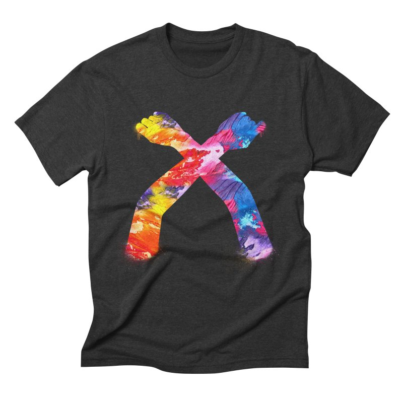 X Men's Triblend T-Shirt by chriscoffincreations