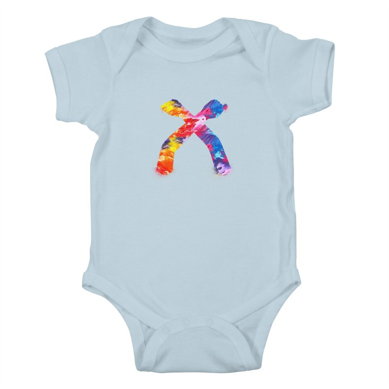 X Kids Baby Bodysuit by chriscoffincreations