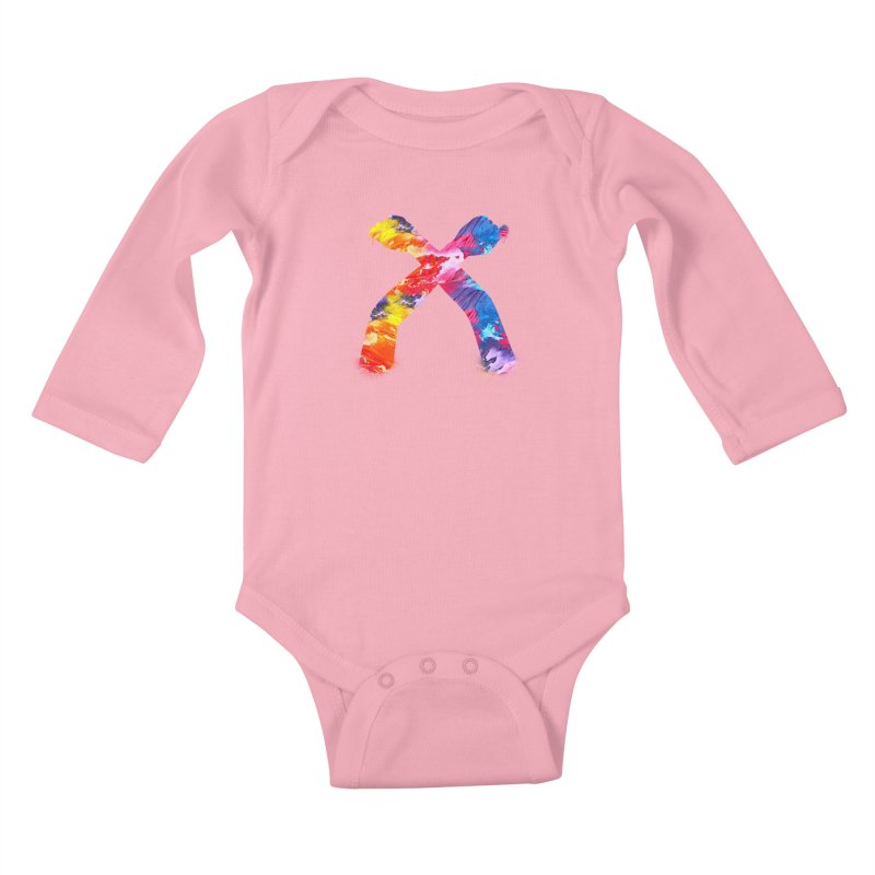 X Kids Baby Longsleeve Bodysuit by chriscoffincreations
