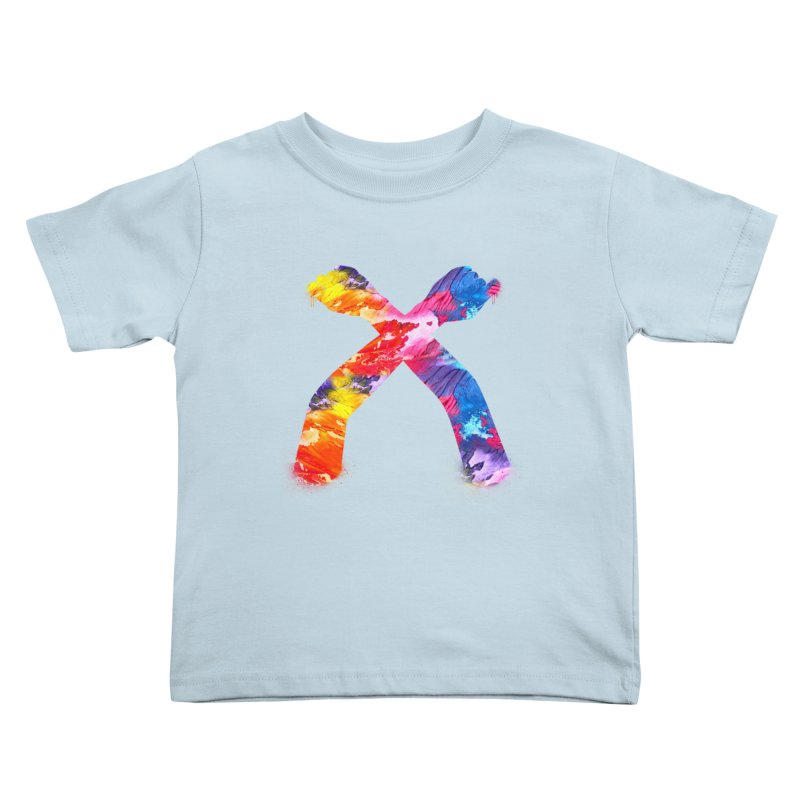 X Kids Toddler T-Shirt by chriscoffincreations