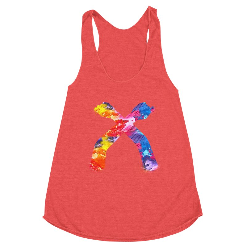 X Women's Tank by chriscoffincreations