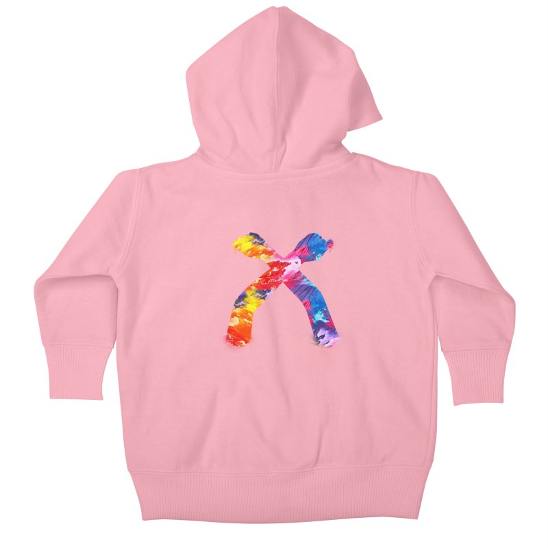 X Kids Baby Zip-Up Hoody by chriscoffincreations