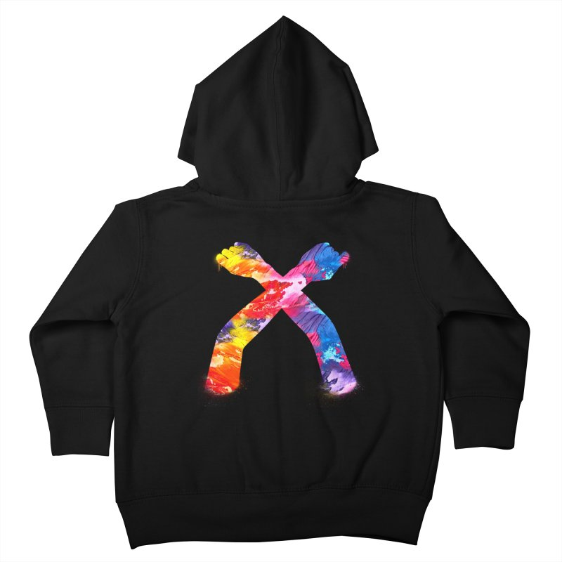 X Kids Toddler Zip-Up Hoody by chriscoffincreations