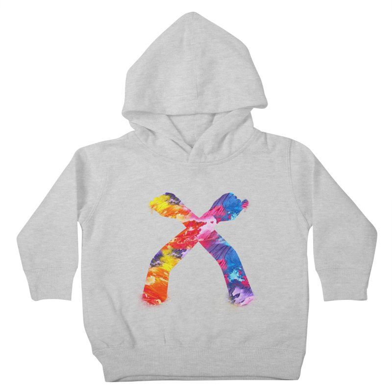 X Kids Toddler Pullover Hoody by chriscoffincreations