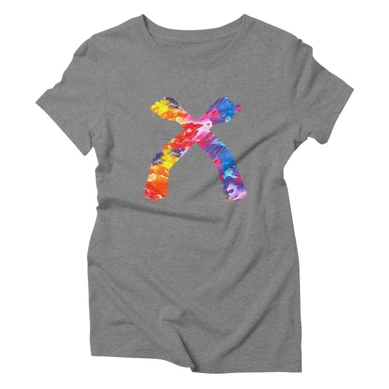 X Women's Triblend T-Shirt by chriscoffincreations