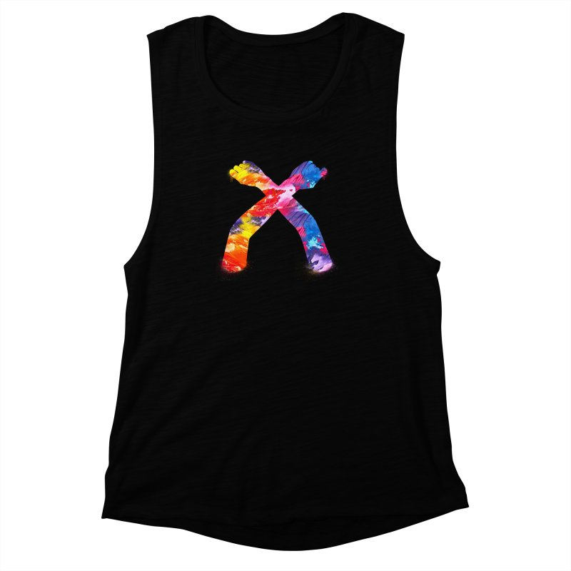 X Women's Muscle Tank by chriscoffincreations