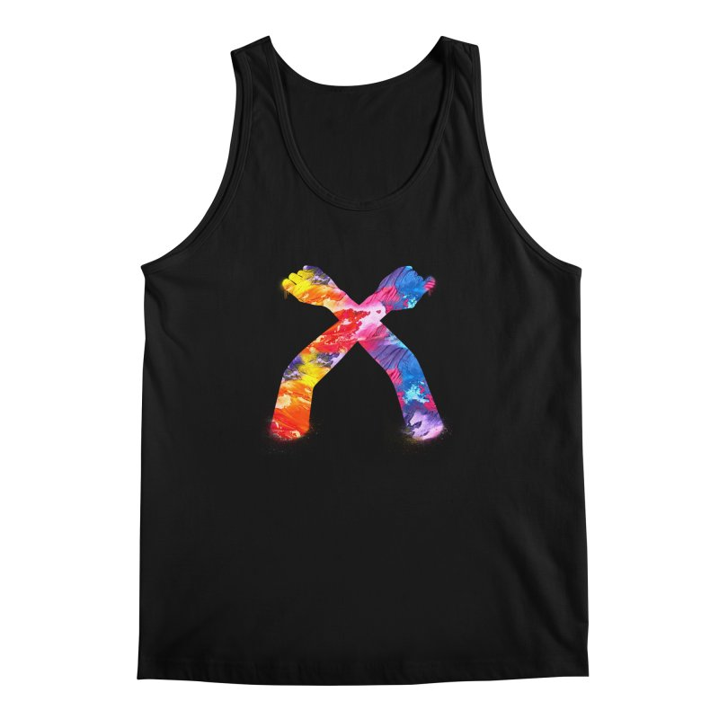 X Men's Regular Tank by chriscoffincreations