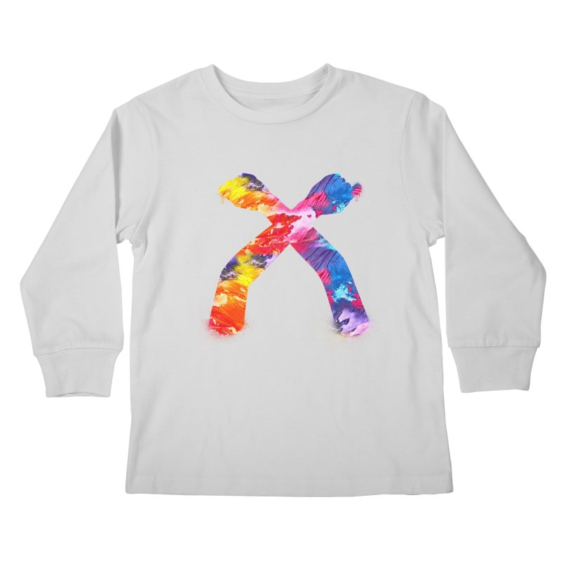 X Kids Longsleeve T-Shirt by chriscoffincreations