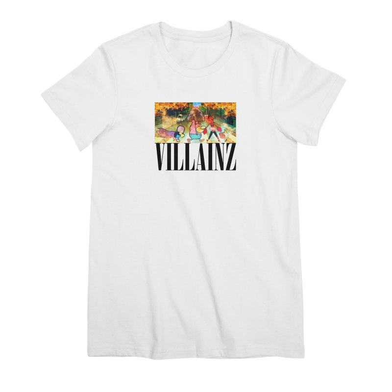 Villainz Women's Premium T-Shirt by chriscoffincreations