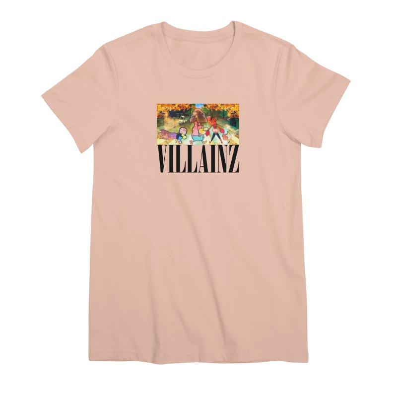 Villainz Women's Premium T-Shirt by chriscoffincreations