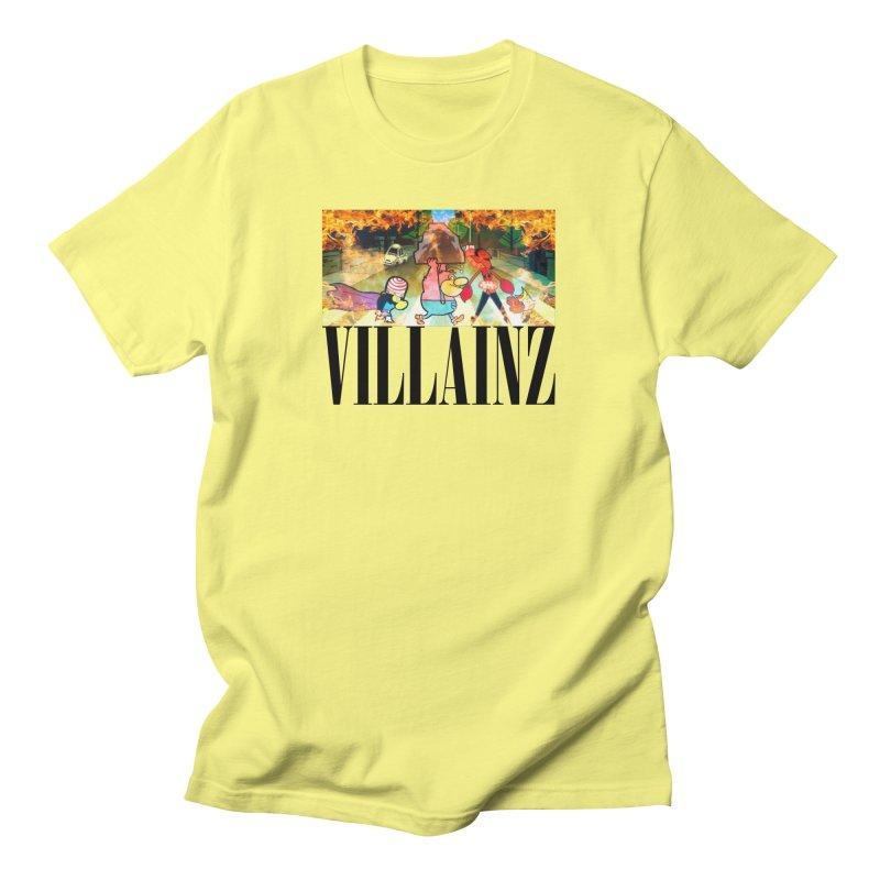 Villainz Men's T-Shirt by chriscoffincreations