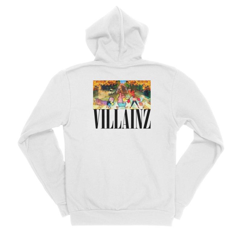 Villainz Women's Sponge Fleece Zip-Up Hoody by chriscoffincreations