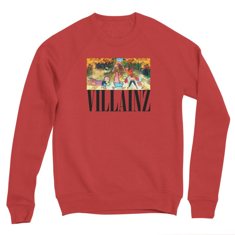 Villainz Men's Sponge Fleece Sweatshirt by chriscoffincreations