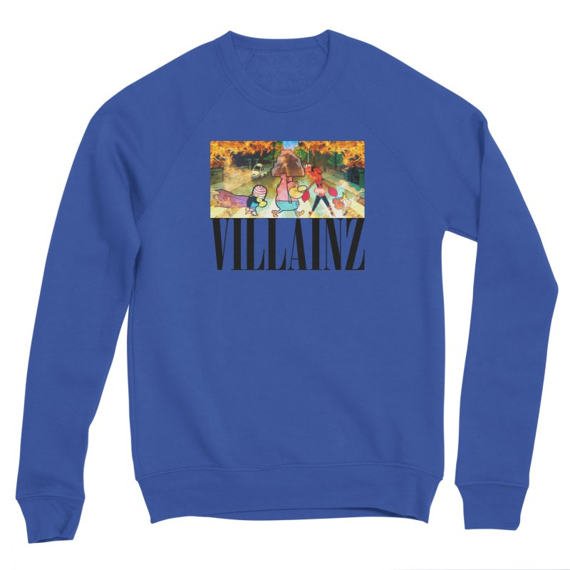 Villainz Women's Sponge Fleece Sweatshirt by chriscoffincreations
