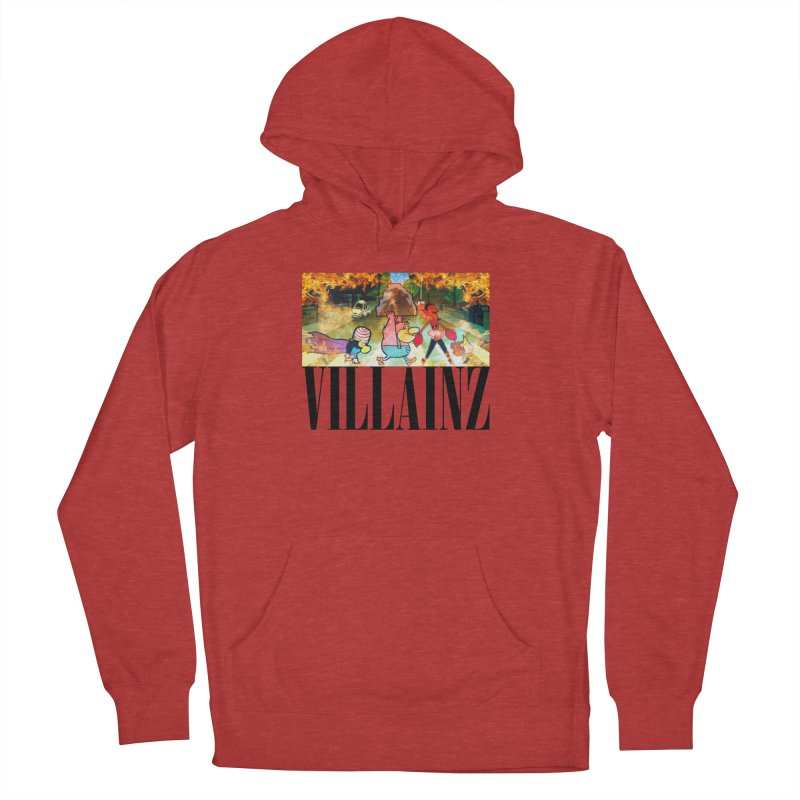 Villainz Women's French Terry Pullover Hoody by chriscoffincreations