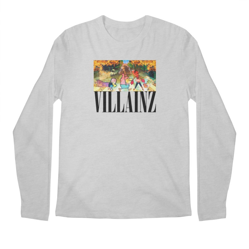 Villainz Men's Regular Longsleeve T-Shirt by chriscoffincreations