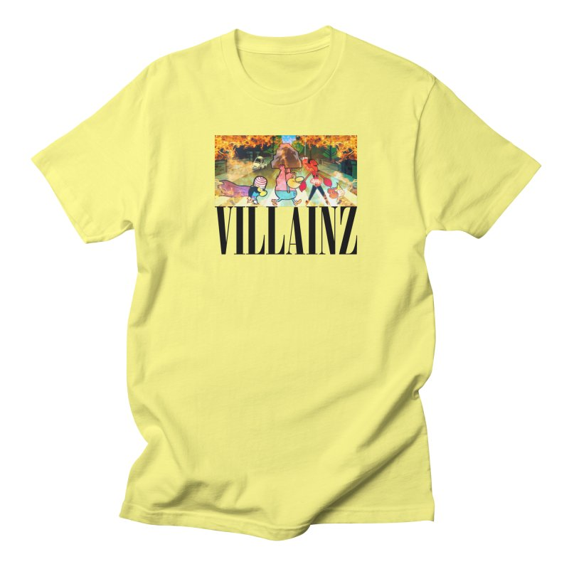 Villainz Women's Regular Unisex T-Shirt by chriscoffincreations