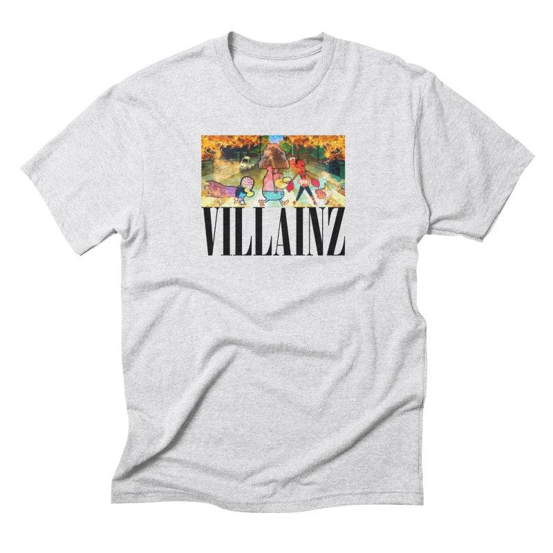 Villainz Men's Triblend T-Shirt by chriscoffincreations