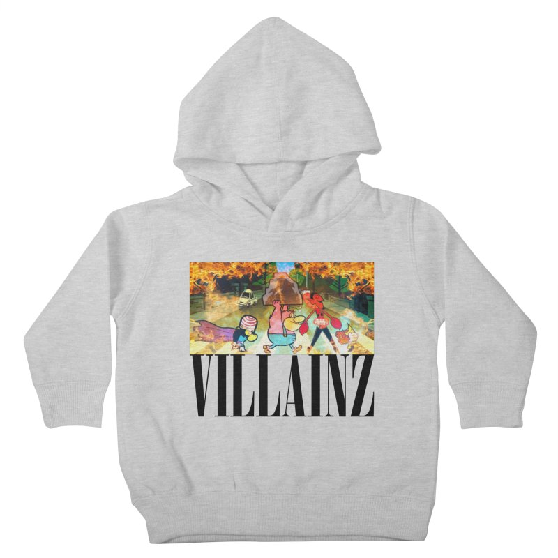 Villainz Kids Toddler Pullover Hoody by chriscoffincreations