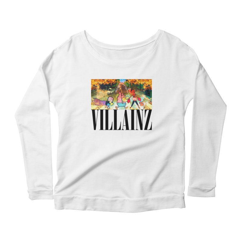 Villainz Women's Scoop Neck Longsleeve T-Shirt by chriscoffincreations