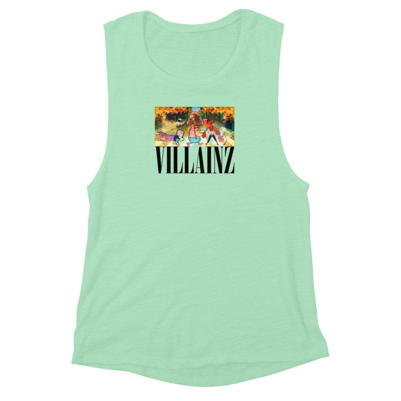 Villainz Women's Muscle Tank by chriscoffincreations