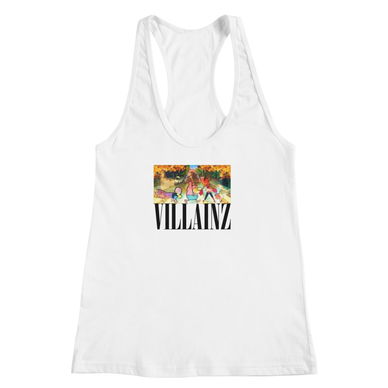 Villainz Women's Racerback Tank by chriscoffincreations