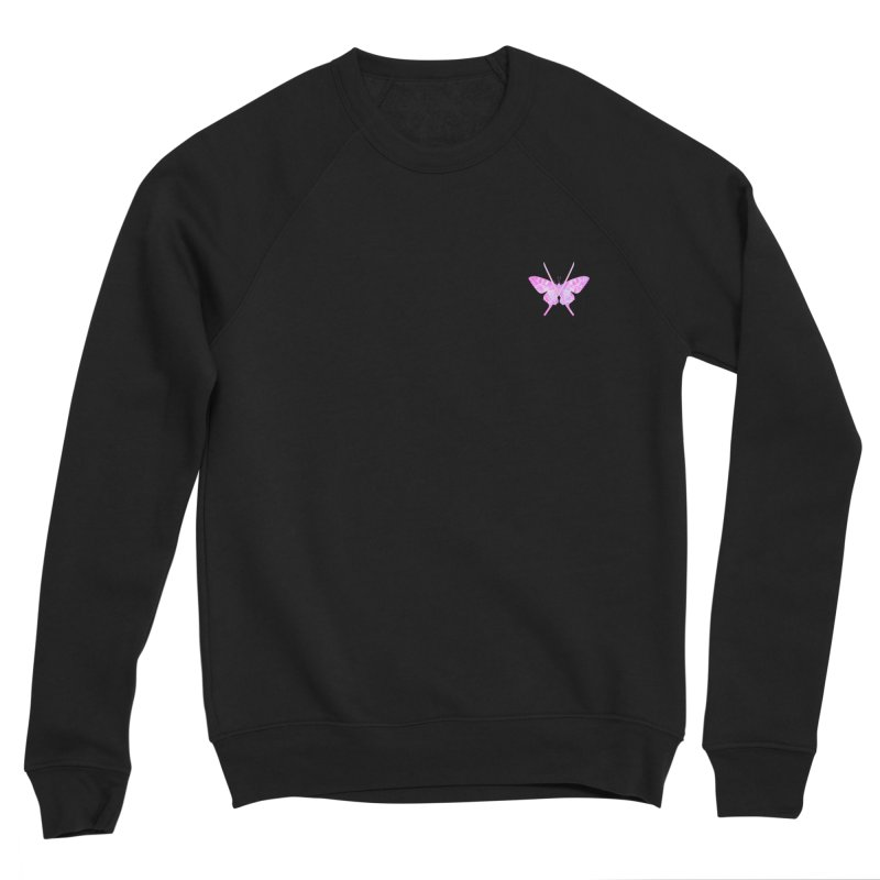 Cut Like A Samurai Sting Like A Butterfly Men's Sponge Fleece Sweatshirt by chriscoffincreations